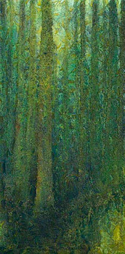 AM Stockhill, Rainforest, Earth Landscape Series, mixed media